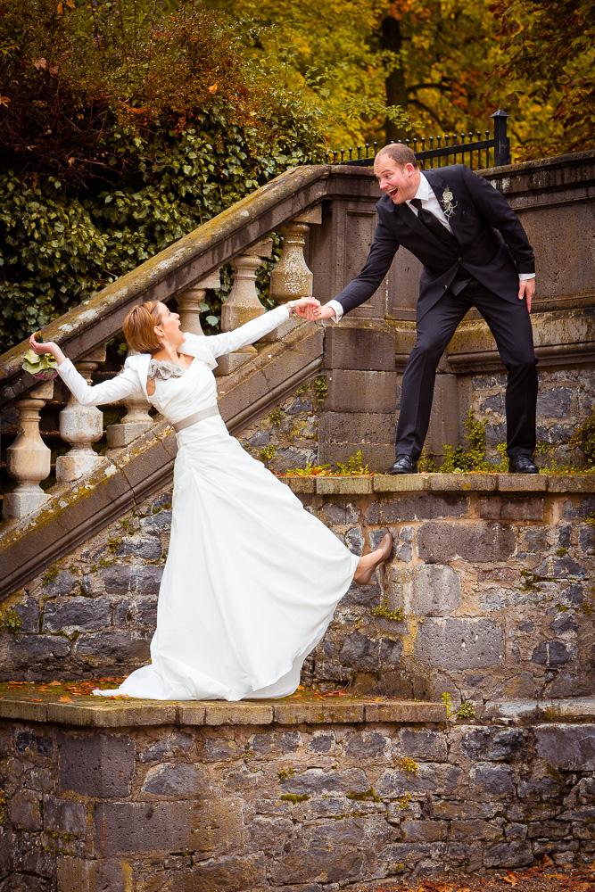 Annika & Jan Hochzeitsfotos auf Schloß Laubach