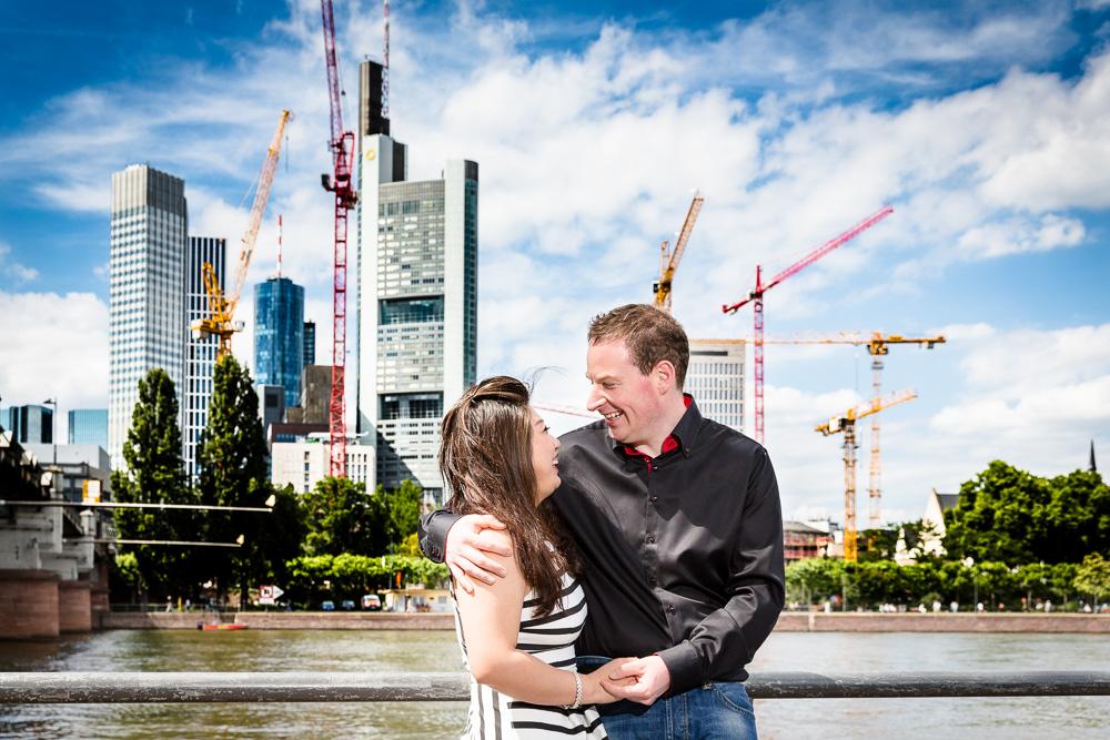 Engagementshooting mit Matthias & Chenchen in Frankfurt
