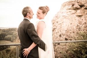 Hochzeitsfotos auf Burg Greifenstein | © Andreas Bender