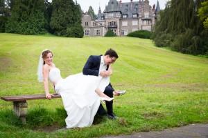 Hochzeitsfoto Schloss Rauischholzhausen | © Andreas Bender