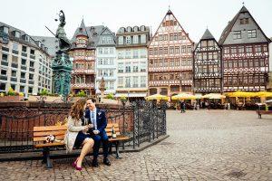 standesamtliche Trauung im Frankfurter Römer, Frankfurt am Main   © Andreas Bender