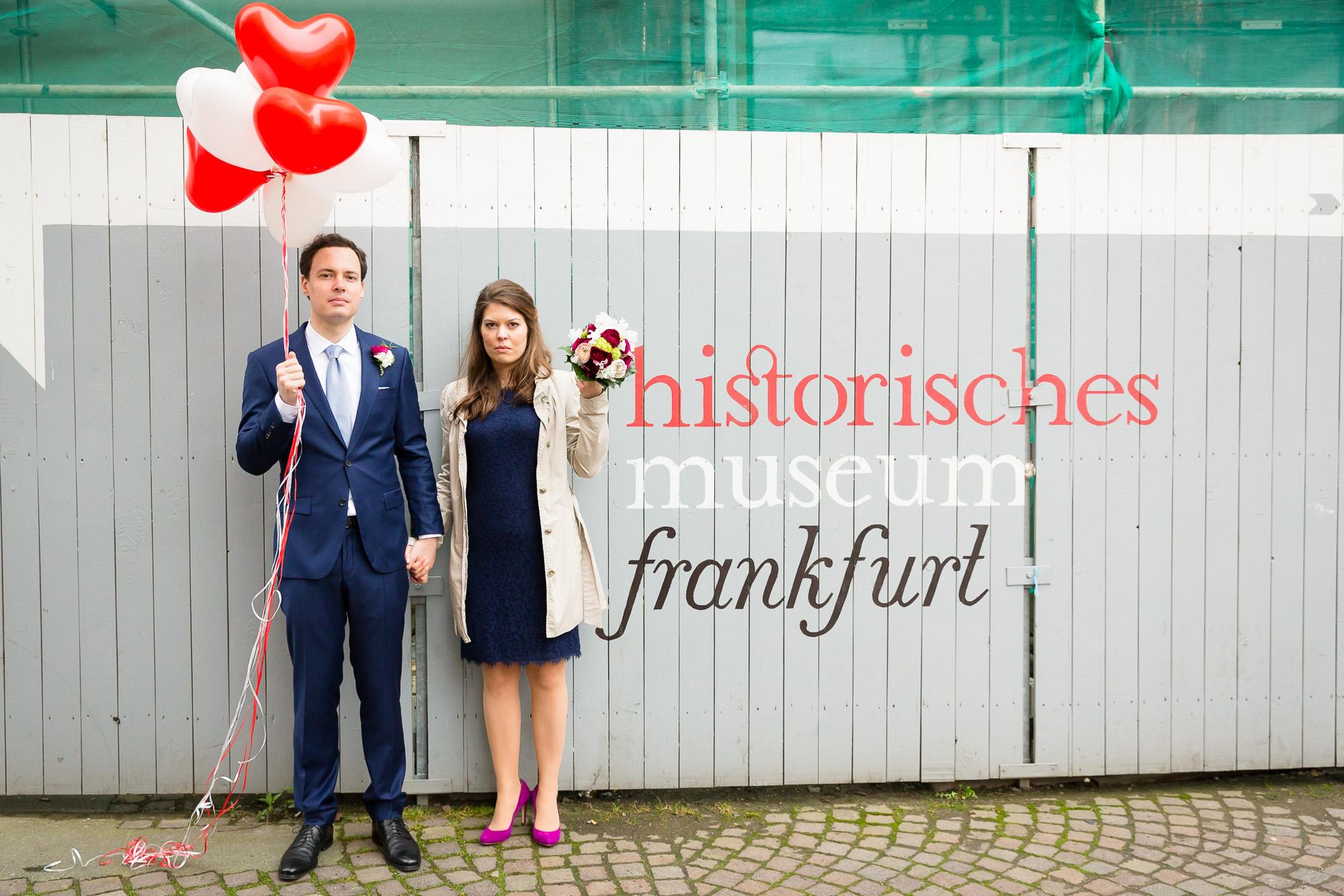 standesamtliche Trauung im Frankfurter Römer, Frankfurt am Main | © Andreas Bender