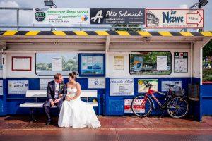 Brautpaarportraits / Hochzeitsfoto / Paarshooting   © Andreas Bender