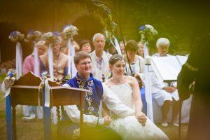 LARP-Hochzeit auf Schloß Garvensburg   © Andreas Bender