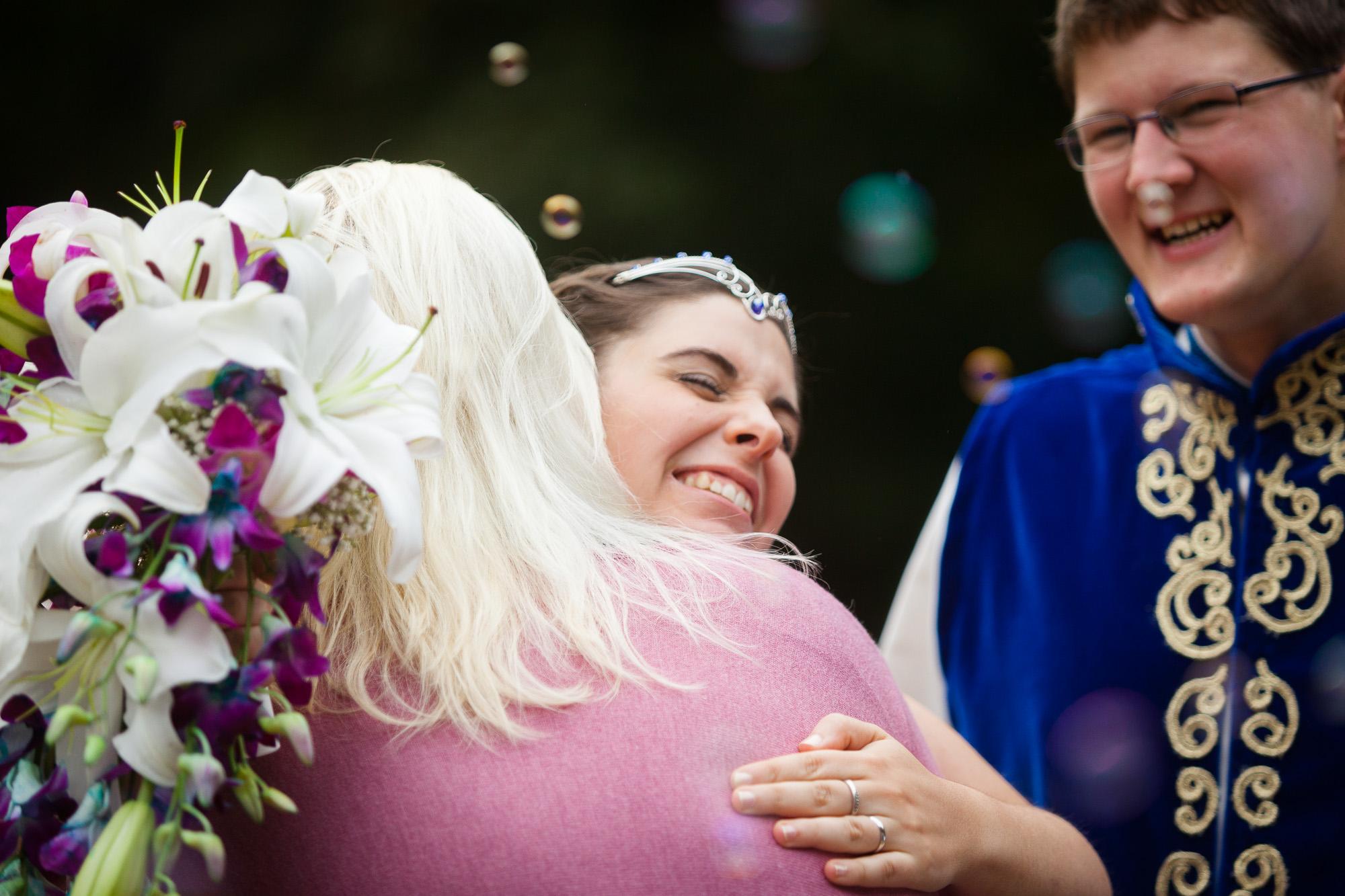 LARP-Hochzeit auf Schloß Garvensburg | © Andreas Bender