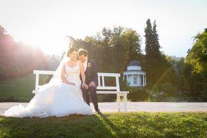 Hochzeit im Gewächshaus Bergpark Wilhelmshöhe, Kassel | © Andreas Bender